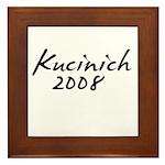 Kucinich Autograph Framed Tile