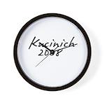 Kucinich Autograph Wall Clock