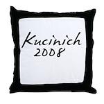 Kucinich Autograph Throw Pillow