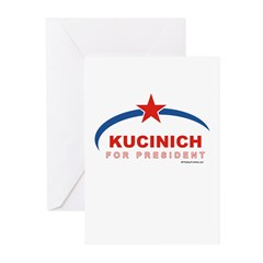 Kucinich for President Greeting Cards (Pk of 20)