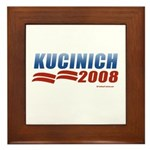 Kucinich 2008 Framed Tile