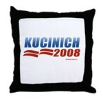 Kucinich 2008 Throw Pillow