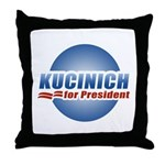 Kucinich for President Throw Pillow