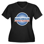 Kucinich for President Women's Plus Size V-Neck Da