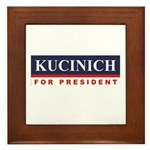 Kucinich for President Framed Tile