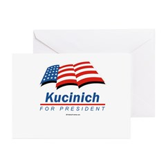 Kucinich for President Greeting Cards (Pk of 10)