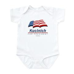 Kucinich for President Infant Bodysuit