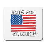 Vote for Kucinich Mousepad