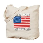 Vote for Kucinich Tote Bag