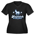 Dennis Kucinich for President Women's Plus Size V-