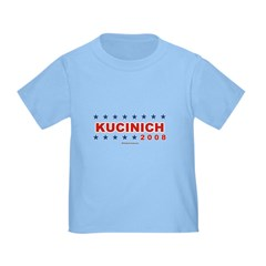 Dennis Kucinich 2008 Toddler T-Shirt