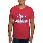 Dennis Kucinich for President Dark T-Shirt