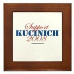 Support Kucinich Framed Tile