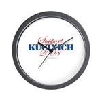 Support Kucinich Wall Clock