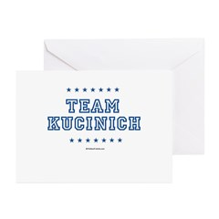Team Kucinich Greeting Cards (Pk of 20)