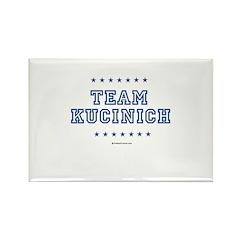 Team Kucinich Rectangle Magnet (100 pack)