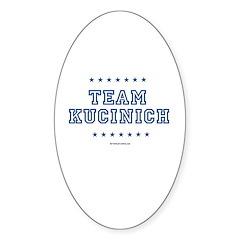 Team Kucinich Oval Sticker