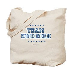 Team Kucinich Tote Bag