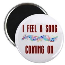 """SONG COMING ON 2.25"""" Magnet (10 pack)"""