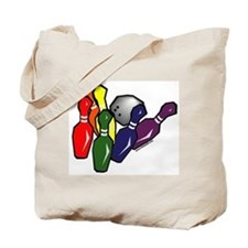 Bowling with Pride Tote Bag