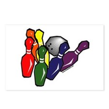 Bowling with Pride Postcards (Package of 8)