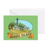 Lighthouse note cards Greeting Cards (20 Pack)