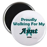 Walking For My Aunt (OC) Magnet