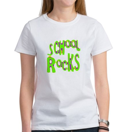 School Rocks - Lime Women's T-Shirt