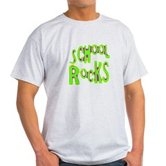 School Rocks - Lime Light T-Shirt