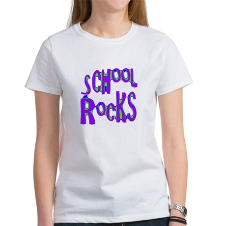 School Rocks - Purple - Women's T-Shirt