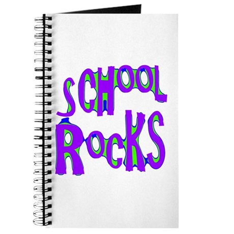 School Rocks - Purple - Journal