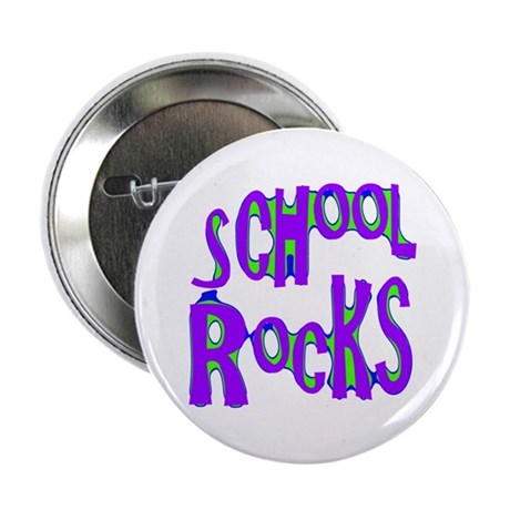 School Rocks - Purple - Button