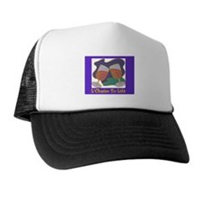 L'Chaim Jewish New Years Trucker Hat