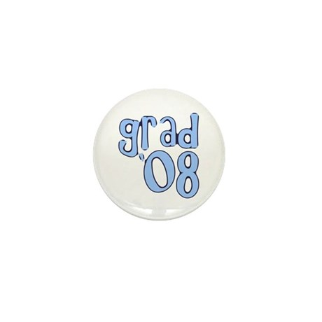 Grad 08 - lt Blue Mini Button