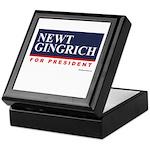 Newt Gingrich Keepsake Box
