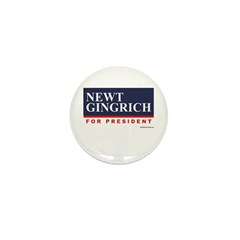 Newt Gingrich Mini Button (10 pack)