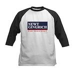 Newt Gingrich Kids Baseball Jersey