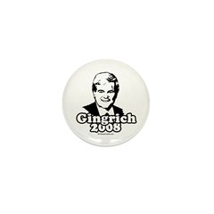 Gingrich 2008 Mini Button (10 pack)