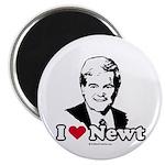 I Love Newt Gingrich Magnet