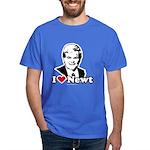 I Love Newt Gingrich Dark T-Shirt