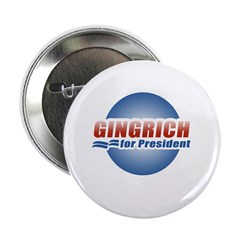 "Gingrich for President 2.25"" Button (10 pack)"
