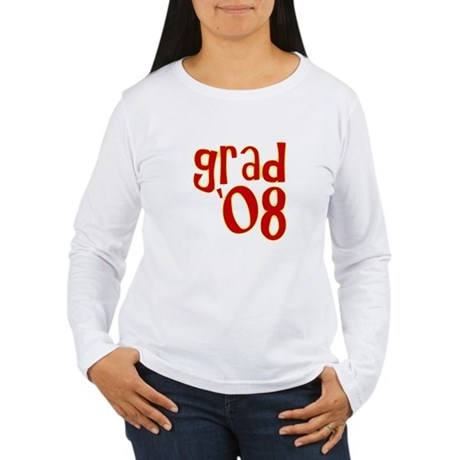 Grad 2008 - Red - Women's Long Sleeve T-Shirt