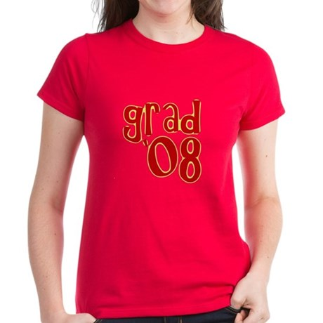 Grad 2008 - Red - Women's Dark T-Shirt