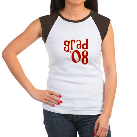 Grad 2008 - Red - Women's Cap Sleeve T-Shirt