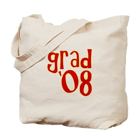 Grad 2008 - Red - Tote Bag
