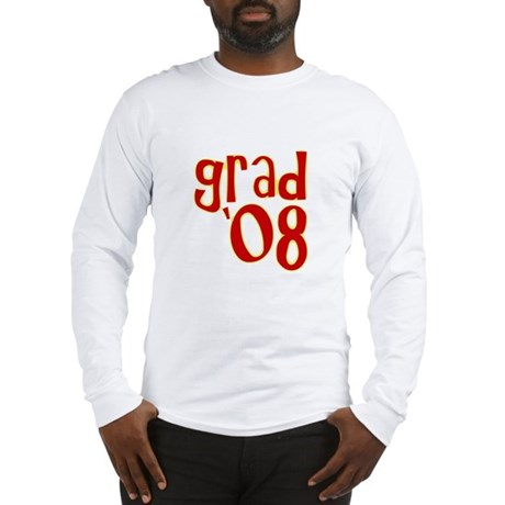 Grad 2008 - Red - Long Sleeve T-Shirt