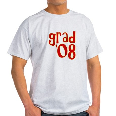 Grad 2008 - Red - Light T-Shirt