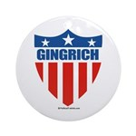 Gingrich Ornament (Round)