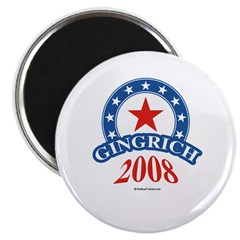 "Gingrich 2008 2.25"" Magnet (10 pack)"