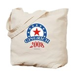 Gingrich 2008 Tote Bag